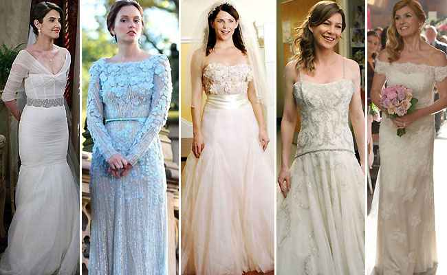 Best TV Wedding Dresses