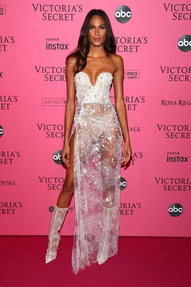 Cindy Bruna at Victoria Secret Fashion Show