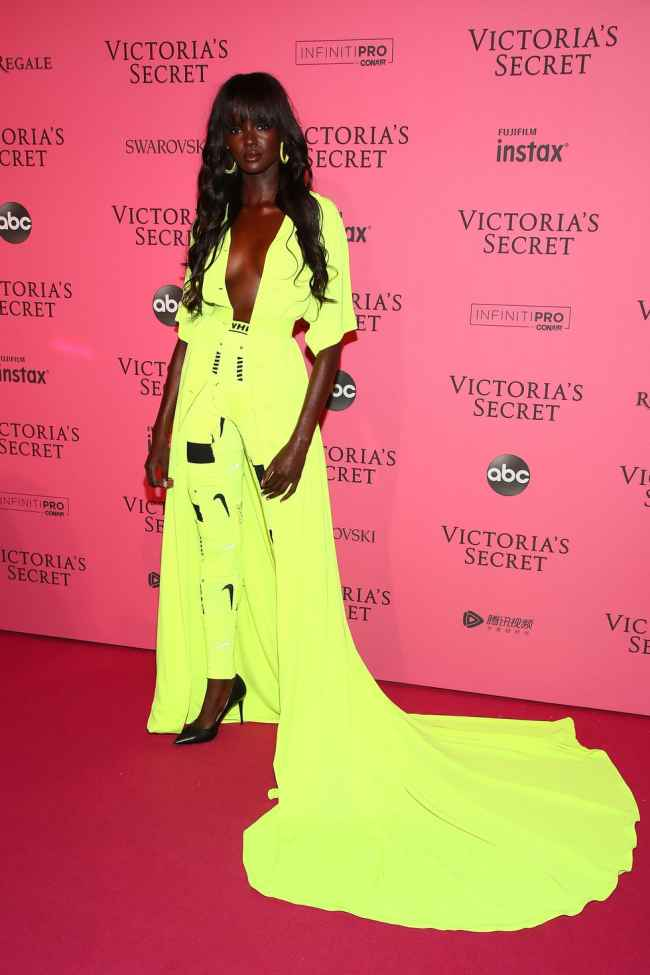 Duckie Thot at Victoria Secret Fashion Show