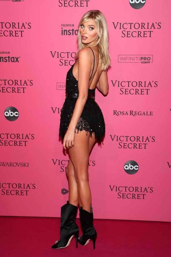 Elsa Hosk at Victoria Secret Fashion Show