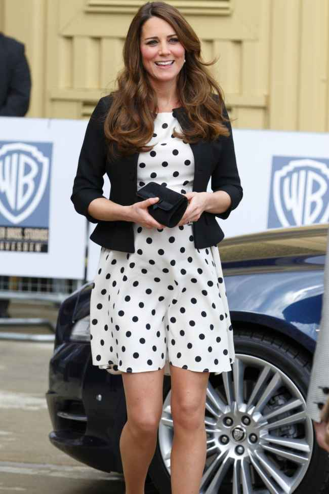 Kate's Polka Dots Dress for Iconic Royal Styles