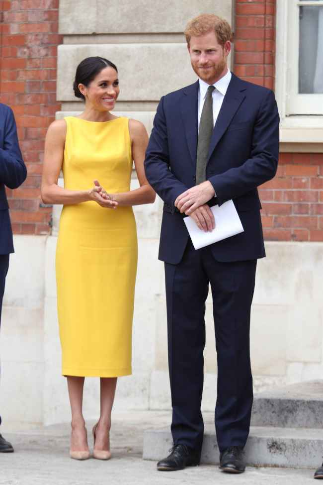 Meghan's Bright Sheath for Iconic Royal Styles