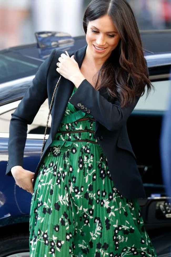 Meghan's Suited Separates Dress for Iconic Royal Styles