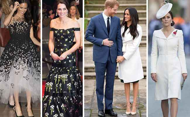 Meghan Markle and Kate Middleton's Most Iconic Royal Styles