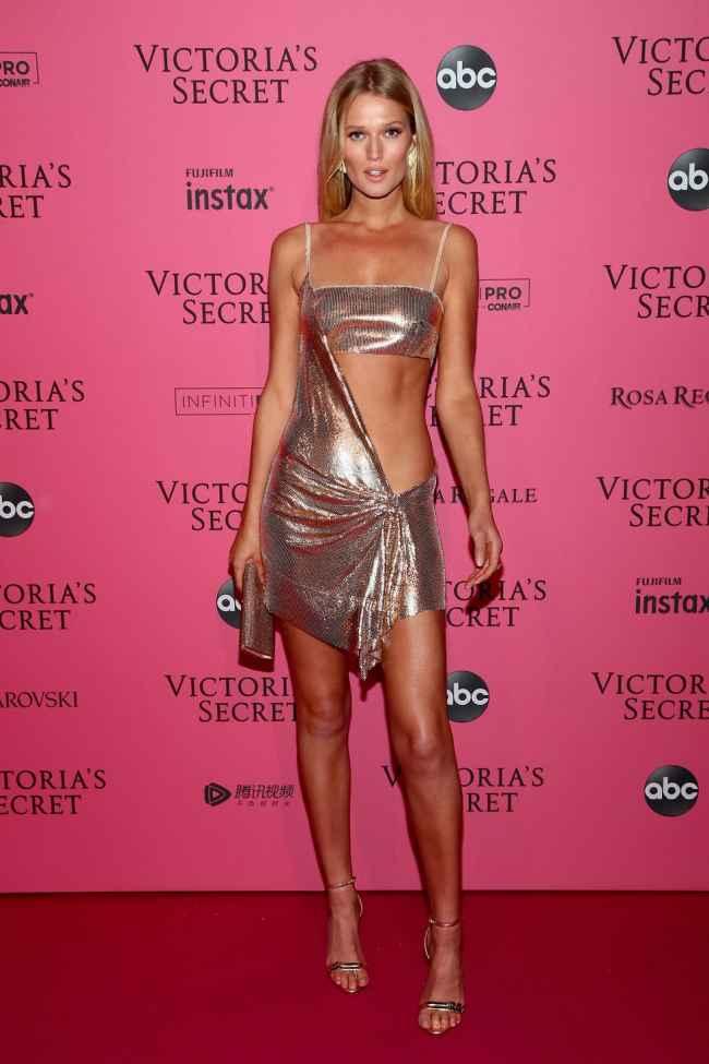 Toni Garnn at Victoria Secret Fashion Show
