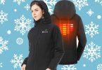 slim fit heated jacket
