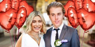 Hailey Baldwin and Justin Bieber Wedding Pics