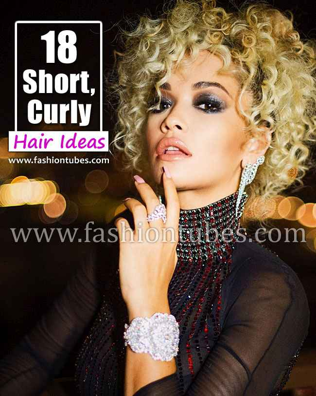 18 Short, Curly Hair Ideas